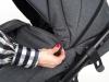 adamex-bibione osłonka na nóżki w spacerówce