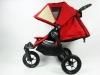 Baby Jogger city elite regulacja oparcia w spacerówce