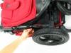 Baby Jogger city elite blokada przed samoistnym rozłożeniem się wózka