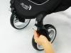 Baby Jogger city mini 4 blokada kół skrętnych