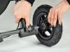Baby Jogger City Mini GT ściąganie koła tylnego