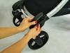 Baby Jogger city select double zakładanie spacerówki