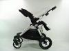 Baby Jogger city select double spacerówka tyłem do kierunku jazdy ustawienia oparcia