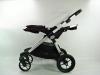 Baby Jogger city select double pozycja leżąca spacerówka tyłem do kierunku jazdy