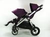 Baby Jogger city select double regulacja oparcia dwie spacerówki
