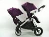 Baby Jogger city select double dwie spacerówki tyłem do kierunku jazdy
