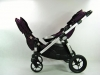 Baby Jogger city select double buzią do siebie
