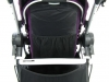 Baby Jogger city select double mechanizm do regulacji oparcia