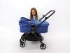 Baby Jogger City Tour Lux Foldable Pram składanie gondoli ze stelażem
