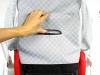 Bebetto Torino mechanizm do regulacji oparcia w spacerówce