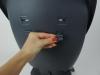 Krzesełko obrotowe 360 CHOC pasy