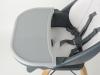 Krzesełko obrotowe 360 CHOC regulacja tacki