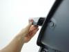 Krzesełko obrotowe 360 CHOC jak ściągnąć plastikową tackę