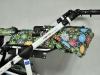 Riko Nano Flower Collection regulacja oparcia w spacerówce