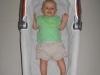 wielkość gondoli, dziecko 5 miesięczne, lato -  wózek Peg Perego Pliko P3, długość gondoli 70 cm