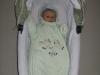wielkość gondoli, dziecko 5 miesięczne, zima  - wózek Implast Bolder Sd, długość gondoli 76 cm