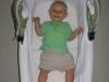 wielkość gondoli, dziecko 5 miesięczne, lato - wózek Implast Bolder Sd,  długość gondoli 76 cm